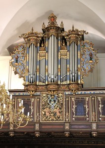 Orglet i Kronborg Slotskirke