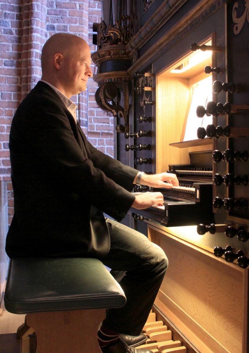 Søren Gleerup Hansen, organist