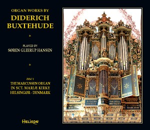 Organ works by Diderich Buxtehude, Søren Gleerup Hansen